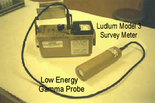 Ludlum Model 3 Survey Meter Image